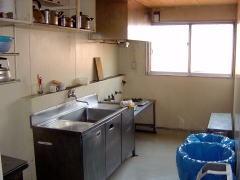横浜市寿生活館 湯沸室(炊事場)