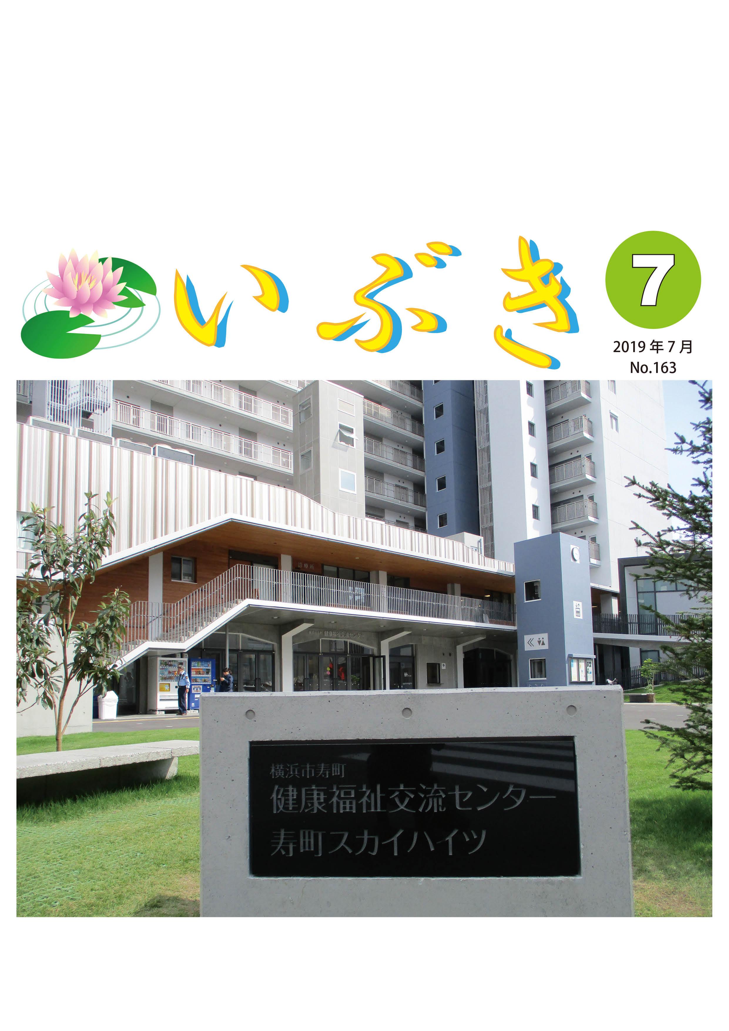 広報紙いぶき2019年7月号(No.163)